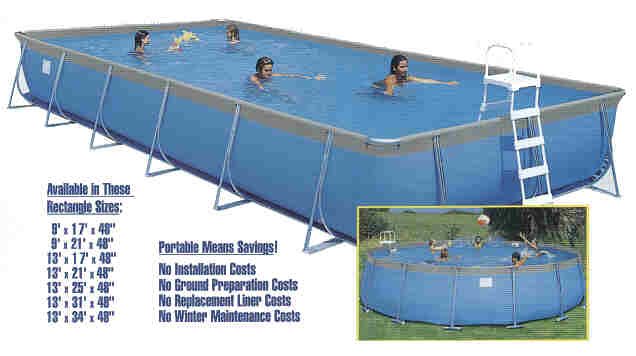 CatCombo Portable Pools